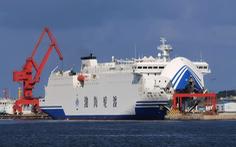 Trung Quốc tăng cấp độ tập trận gần Đài Loan, dùng tàu 16.000 tấn