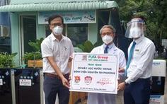Tặng 75 máy lọc nước cho 3 Bệnh viện Nguyễn Tri Phương, Nguyễn Trãi và Hùng Vương