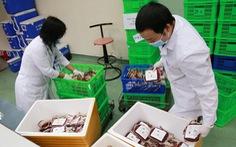 2.000 đơn vị máu sẻ chia cùng miền Nam chống dịch