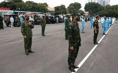 TP.HCM yêu cầu tạo điều kiện tối đa cho xe vận tải quân sự lưu thông