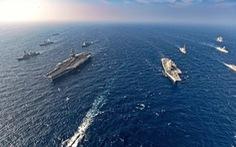Hải quân Mỹ - Nhật - Ấn - Úc khởi động tập trận 4 ngày ngoài khơi đảo Guam