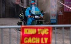 CDC Hà Nội: 'Gần như 1.700 người ở ổ dịch phường Thanh Xuân Trung là F1'