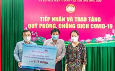 VietinBank hỗ trợ hơn 27 tỉ đồng cho 5 tỉnh phía Nam