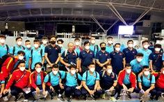 Đội tuyển Việt Nam lên đường đến Saudi Arabia, chủ nhà bố trí máy bay riêng đón từ Qatar