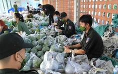Đà Nẵng mở cửa 30 điểm cung ứng hàng thiết yếu do công an tổ chức, miễn phí rau xanh