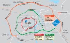 Đề xuất giao 5 địa phương làm gần 200km đường vành đai 4 TP.HCM