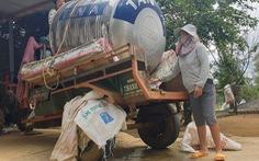 Khô hạn kéo dài, dân phải mua nước sinh hoạt giá 50.000 đồng/m3