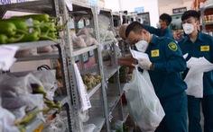 Quận, phường lo thực phẩm cho dân