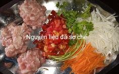 Cơm Ý, chả giò pò pía và thịt băm chiên từ nguyên liệu giản đơn