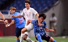 Nhật Bản - Tây Ban Nha (hết hiệp 1) 0-0:  Hai đội thi đấu quá chặt chẽ