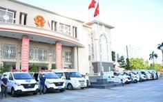 TP Thủ Đức ra mắt đội xe cấp cứu khẩn cấp 8 chiếc
