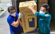 Thêm máy lọc nước, bệnh viện mừng vì giảm rác thải nhựa cho môi trường mùa COVID