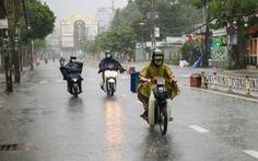 Mưa lớn đang bao phủ toàn TP.HCM, dự báo còn mưa nhiều ngày tới