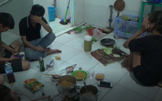 Phạt 105 triệu đồng 7 thanh niên tụ tập ăn nhậu trong lúc giãn cách