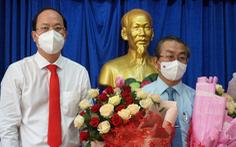 Bí thư Đảng ủy khối Dân - Chính - Đảng TP.HCM giữ chức bí thư quận 8