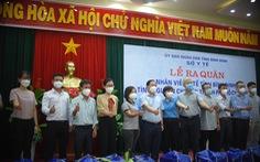 Bình Định đưa đoàn y bác sĩ thứ 2 tiếp viện TP.HCM chống dịch