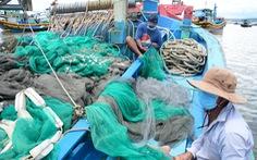 Ngư dân bám trụ lại trên ghe để vươn khơi mùa dịch