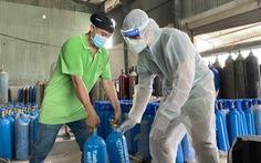 Quân đội sản xuất oxy hỗ trợ TP.HCM chống dịch