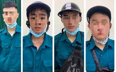 Bắt 6 thiếu niên giả dân quân tự vệ chống dịch để lấy tiền của dân