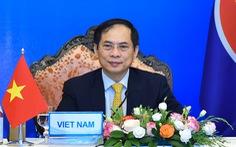 Mỹ cam kết vắc xin COVID-19, nêu vấn đề Biển Đông tại cuộc họp với ASEAN