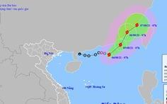 Áp thấp nhiệt đới mạnh lên thành bão, có khả năng mạnh thêm