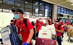 Đoàn thể thao Việt Nam lên đường về nước, chia tay Olympic Tokyo 2020