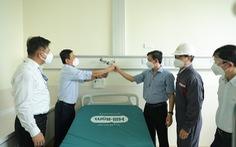 Bệnh viện hồi sức COVID-19 TP.HCM được trang bị thêm hệ thống oxy và hút chân không