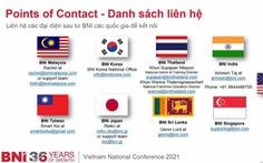 BNI Việt Nam tổ chức thành công hội nghị toàn quốc trên nền tảng online