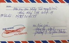 Đảng viên nghỉ hưu viết thư xin gia nhập đội tình nguyện chống dịch