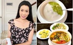 Trịnh Kim Chi bật mí bí quyết nấu bún riêu ốc, trứng ngâm nước tương, chè hạt điều, yaourt phô mai