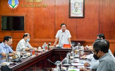 Bộ trưởng Lê Minh Hoan: Doanh nghiệp đừng chờ giá lúa xuống đáy rồi mới mua