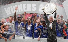 Đá bại Man City, Leicester đoạt Siêu cúp Anh 2021