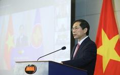Kỷ niệm 54 năm thành lập ASEAN, Bộ Ngoại giao tổ chức lễ chào cờ đặc biệt