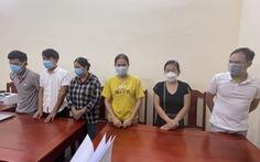 Tạm giữ 6 nghi phạm lợi dụng dịch COVID-19 để lừa đảo, chiếm đoạt tài sản