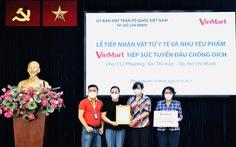 VinMart/VinMart+ tiếp sức tuyến đầu chống dịch cho hơn 300 phường, xã tại TP.HCM