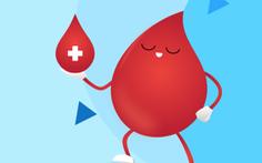 Ứng dụng 'Giọt máu vàng' cho người hiến máu dễ dàng trong thời gian giãn cách