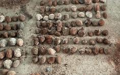 Triệt phá xưởng sản xuất ma túy, tìm thấy 542 hóa thạch trứng khủng long