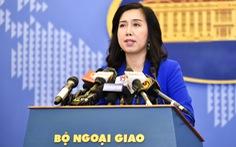 Việt Nam lên tiếng về Luật an toàn giao thông hàng hải của Trung Quốc