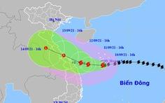 3 tàu cá mất liên lạc, bão số 5 cách bờ biển Quảng Trị - Quảng Nam 380km