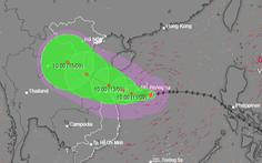 Xuất hiện 2 cơn bão theo sát nhau, nhưng không có khả năng bão chồng bão