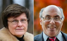 Hai nhà khoa học đứng sau vắc xin mRNA được trao giải Đột phá