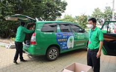 TP.HCM: Vận chuyển hàng hóa dành cho trẻ em bằng xe taxi
