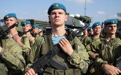 Nga dùng robot chiến đấu trong tập trận cùng Belarus