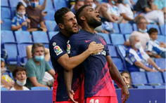 10 phút bù giờ 'khó hiểu' giúp Atletico Madrid giành 3 điểm quý giá