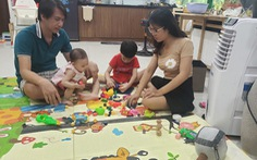 Chơi và học với con - 'chương trình sinh hoạt thiết yếu'