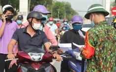 TP Vinh bỏ chốt kiểm soát dịch về các huyện từ chiều 13-9