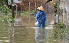 Quảng Nam ngớt mưa, nhiều nơi vẫn còn ngập cục bộ