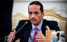 Ngoại trưởng Qatar hội đàm với thủ tướng Afghanistan