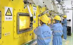 Trung Quốc mở nhà máy biến chất thải hạt nhân thành thủy tinh