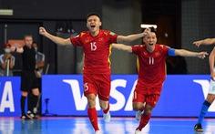 Futsal Việt Nam - Nga (hiệp 1) 0-0